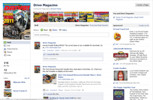 Drive Magazine Facebook page